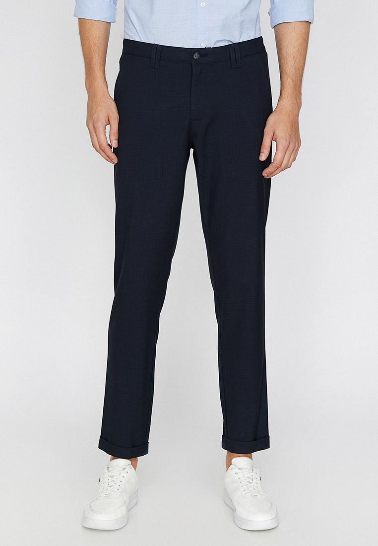 Мужские прямые брюки Koton 0KAM41008BW
