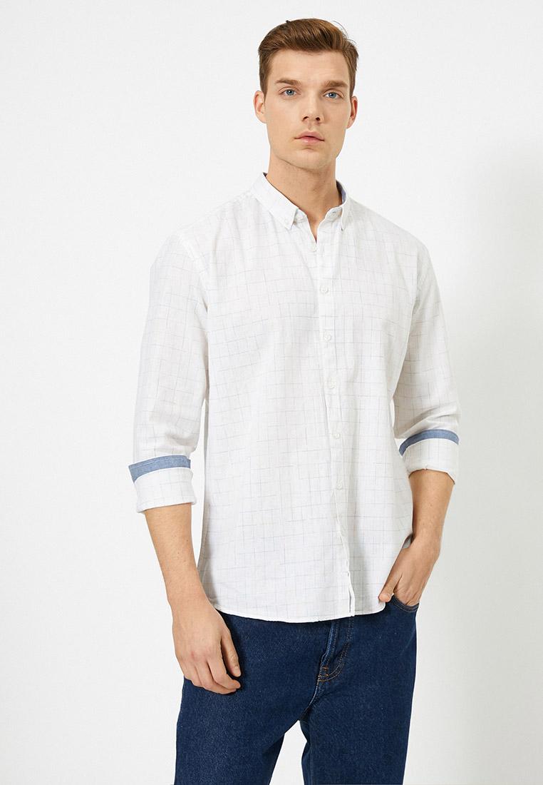 Рубашка с длинным рукавом Koton 0YAM61005BW