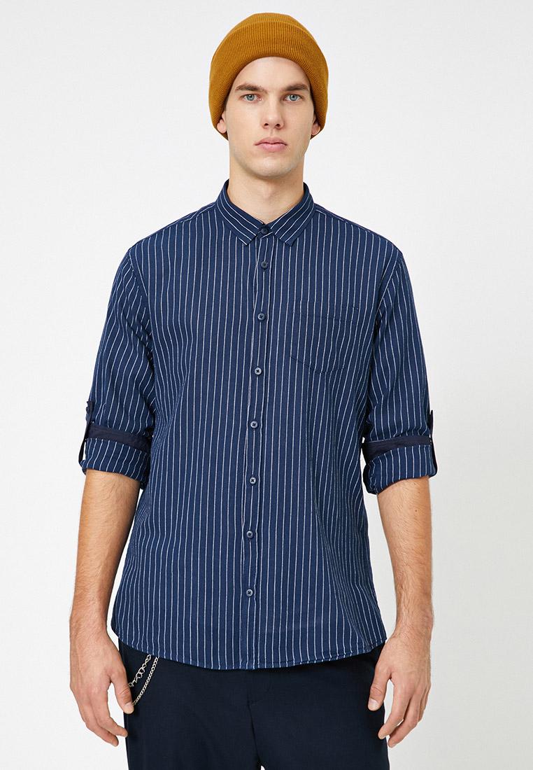 Рубашка с длинным рукавом Koton 0YAM61633BW