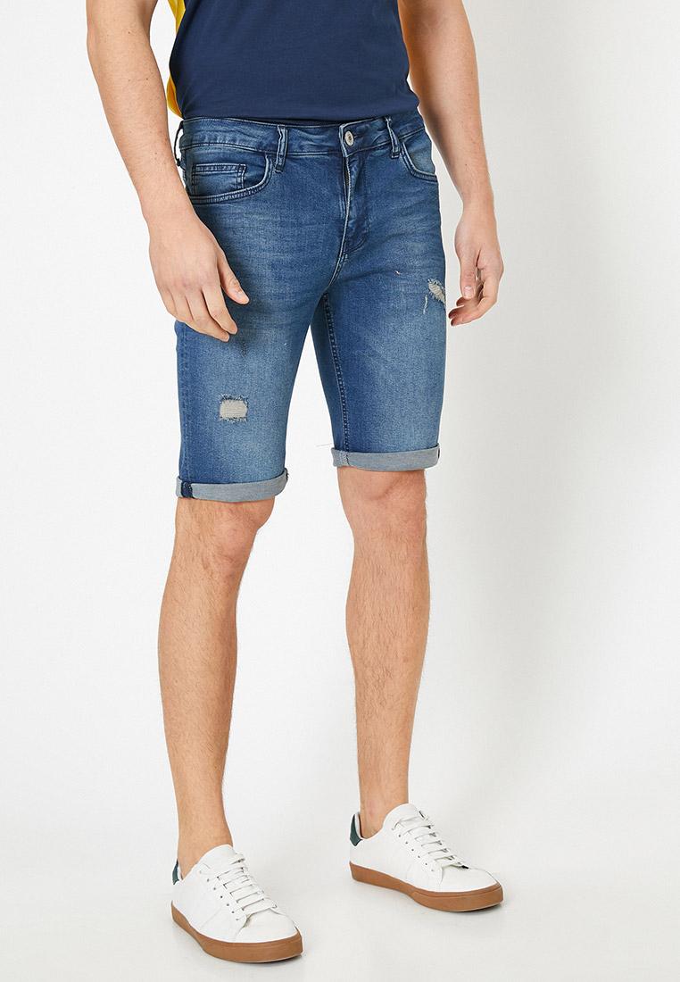 Мужские джинсовые шорты Koton 0YAM43364LD