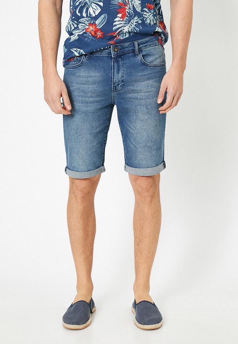 Мужские джинсовые шорты Koton 0YAM43369LD