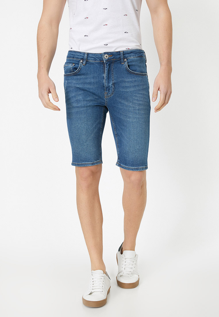 Мужские джинсовые шорты Koton 0YAM43377LD
