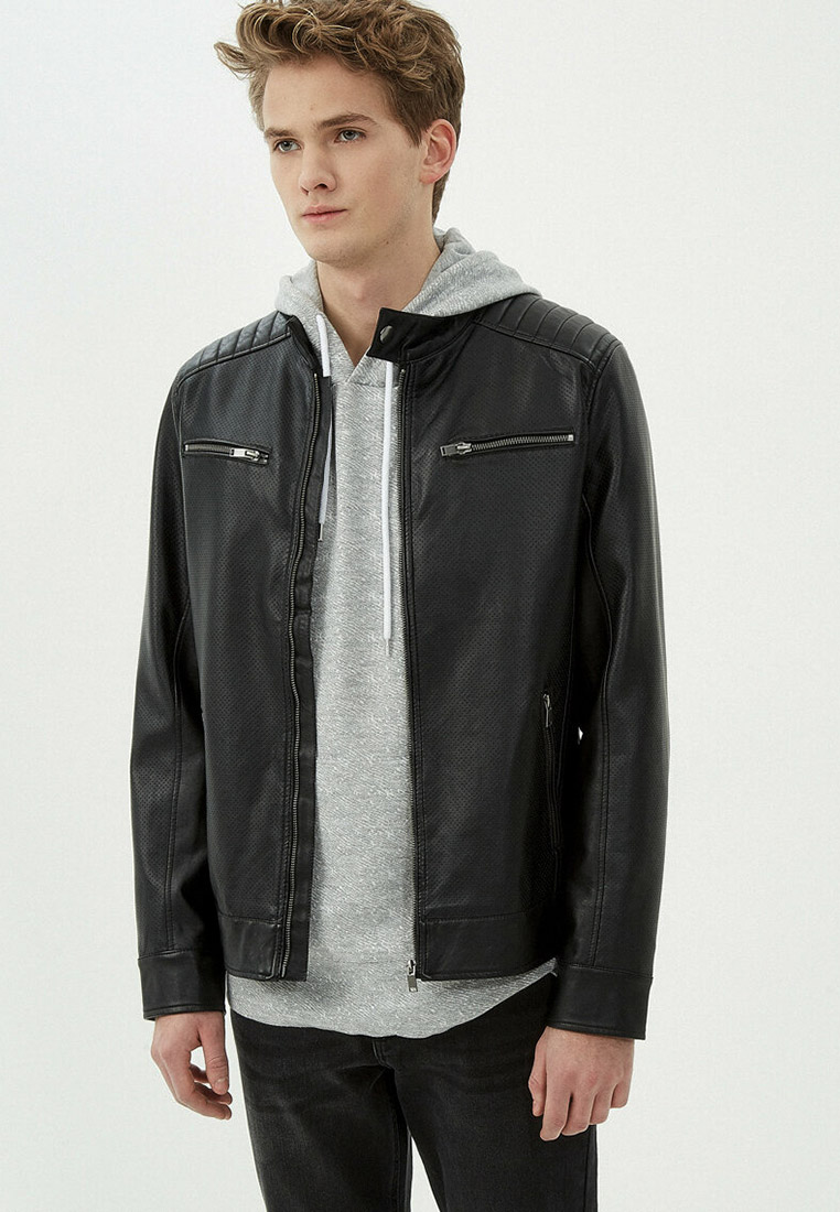 Кожаная куртка Koton 7YAM21058LW