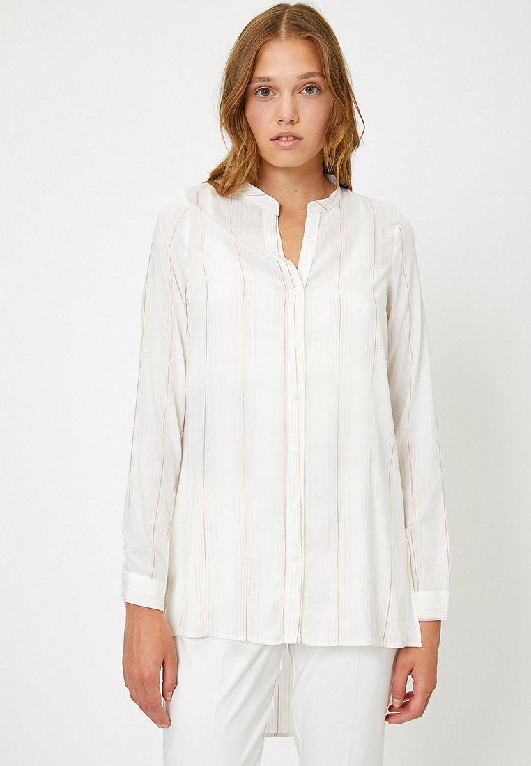 Женские рубашки с длинным рукавом Koton 0KAK68198PW