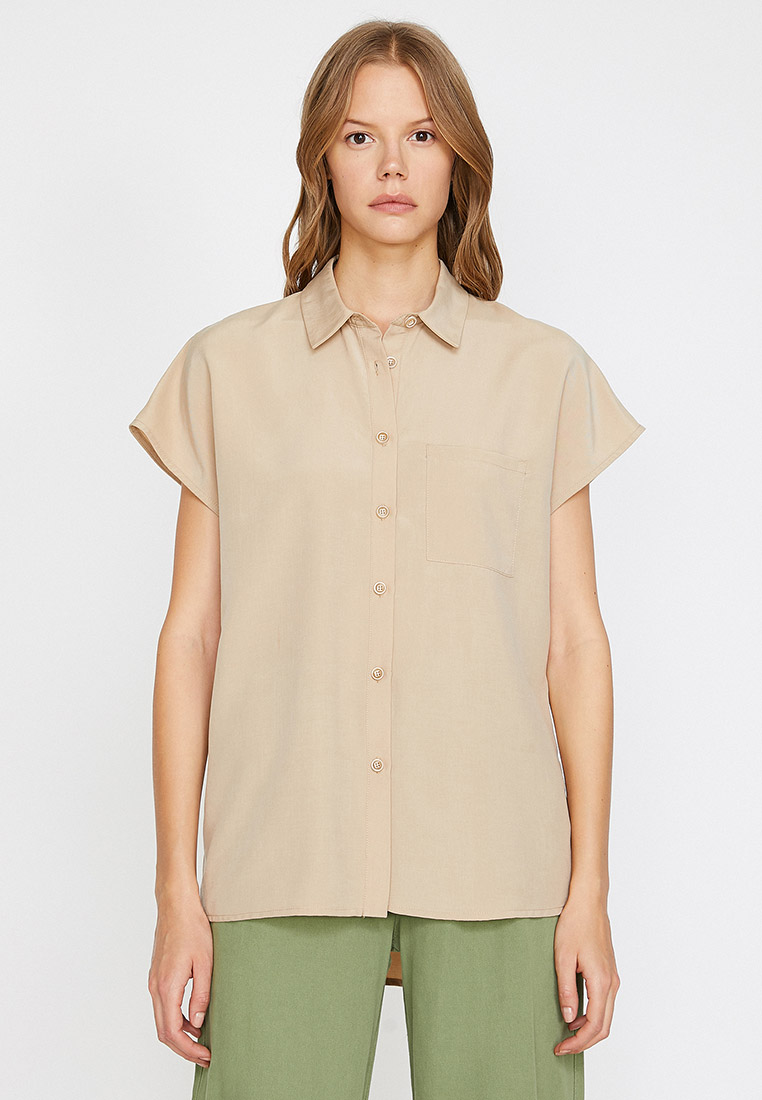 Рубашка с коротким рукавом Koton 0KAK68681CW