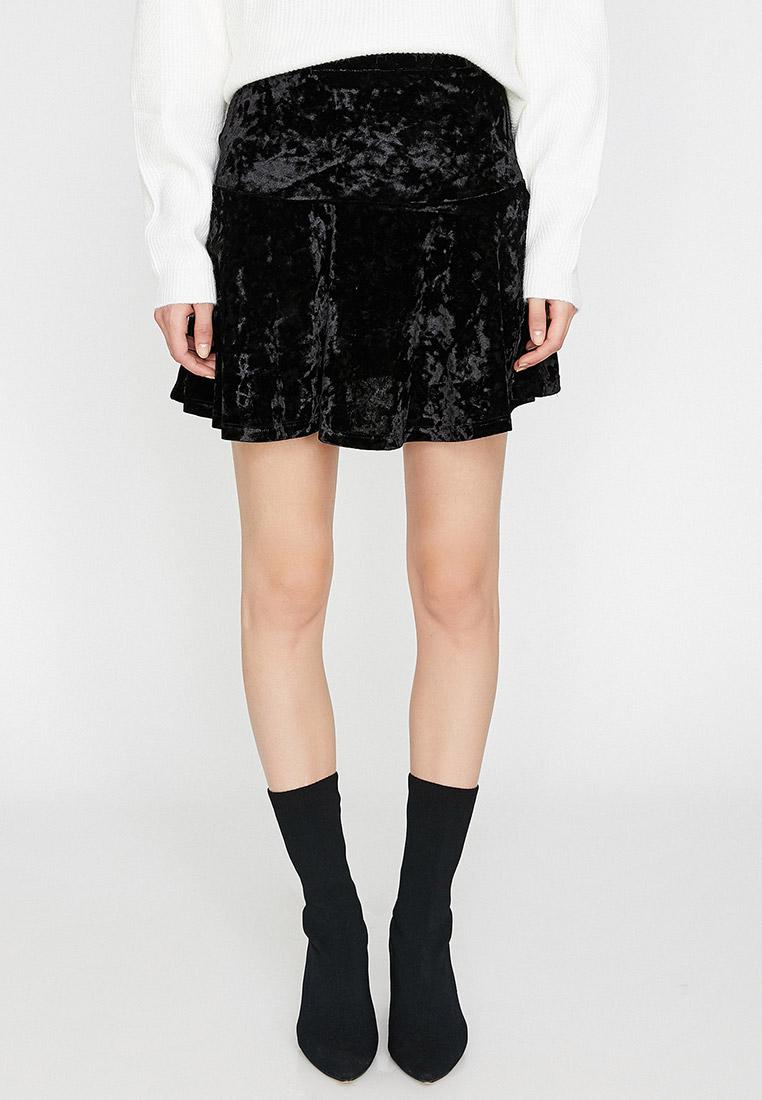 Широкая юбка Koton 0KAK73254EK