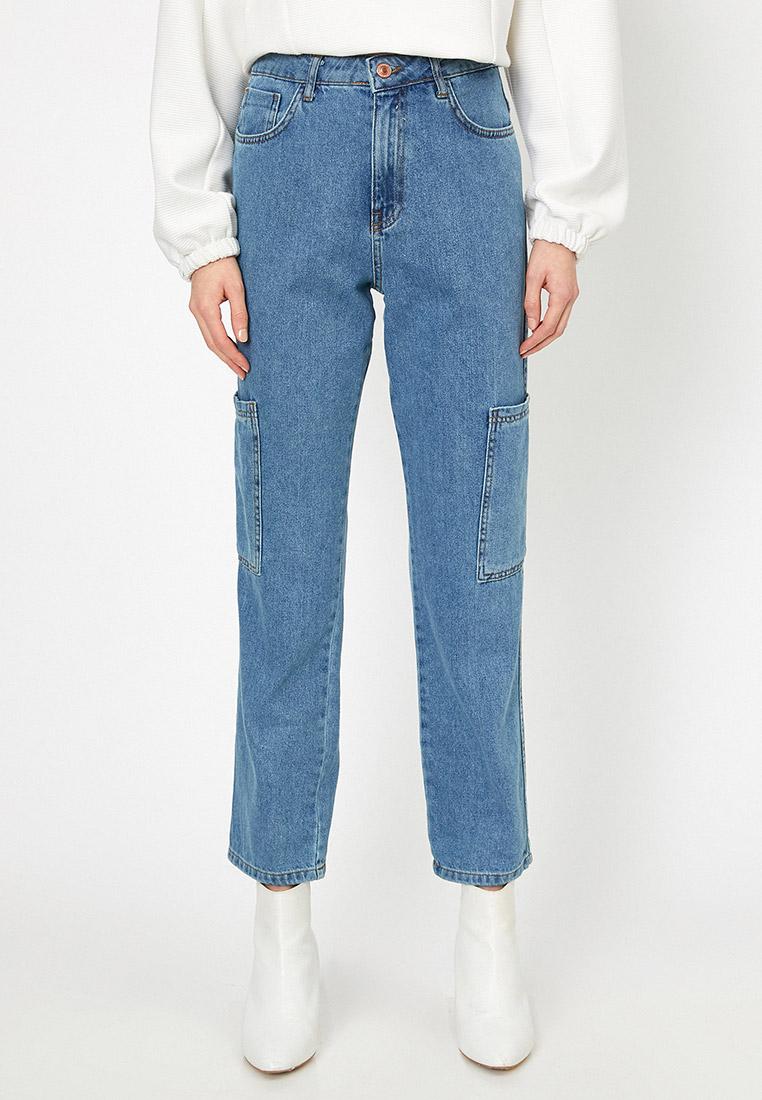Прямые джинсы Koton 0YAK47721MD