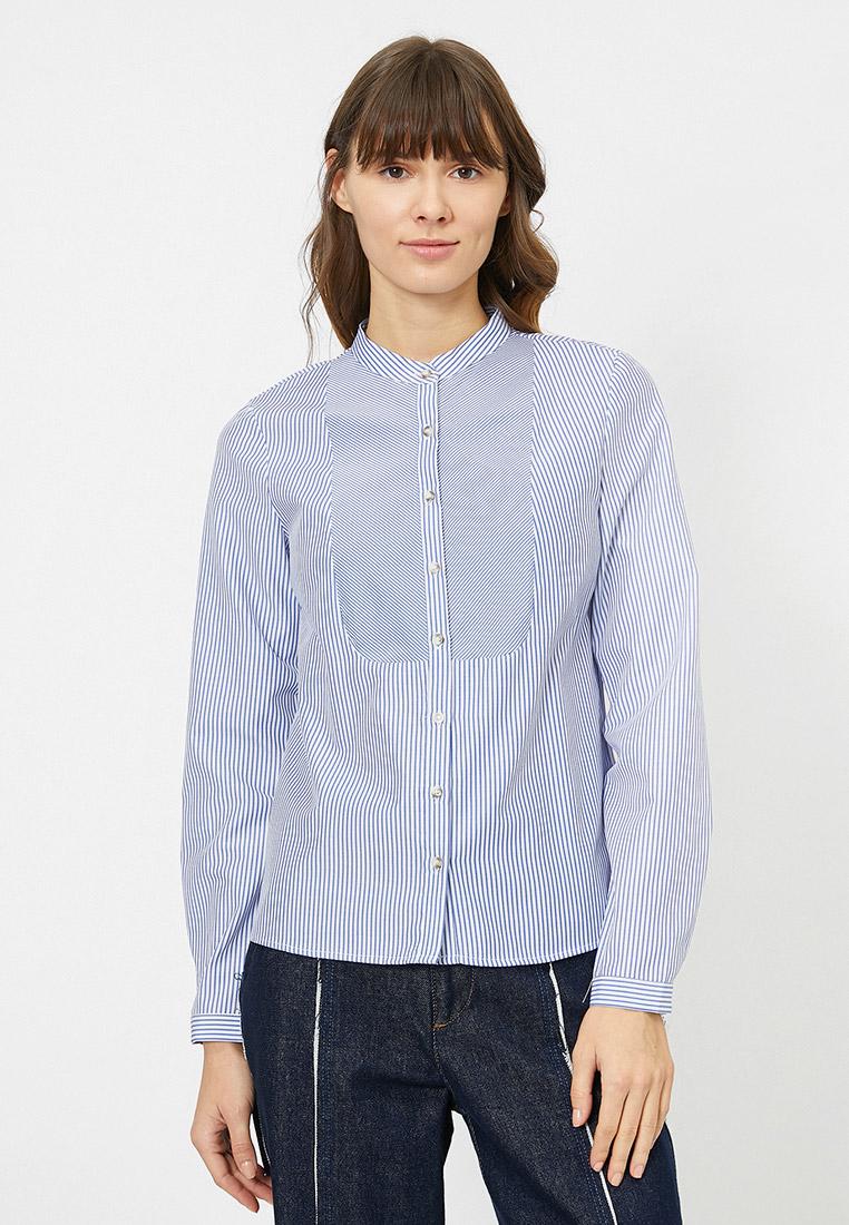 Женские рубашки с длинным рукавом Koton 0YAK66013IW