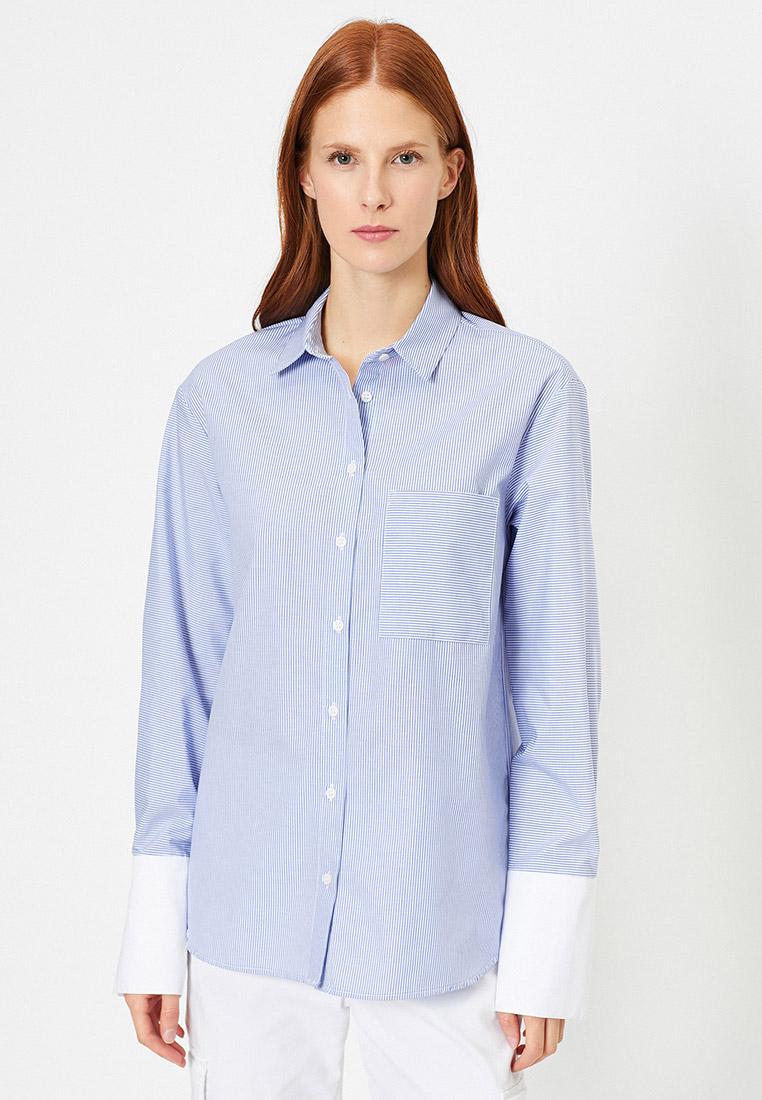 Женские рубашки с длинным рукавом Koton 0YAK66024IW