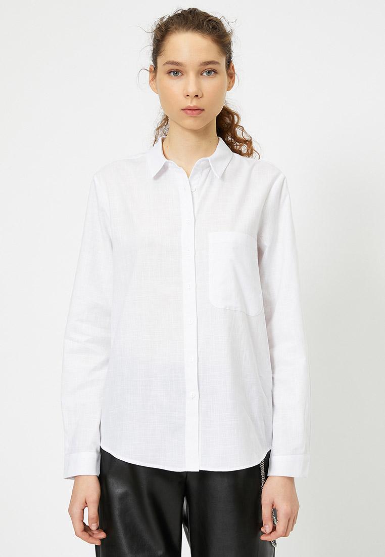 Женские рубашки с длинным рукавом Koton 0YAL68078IW