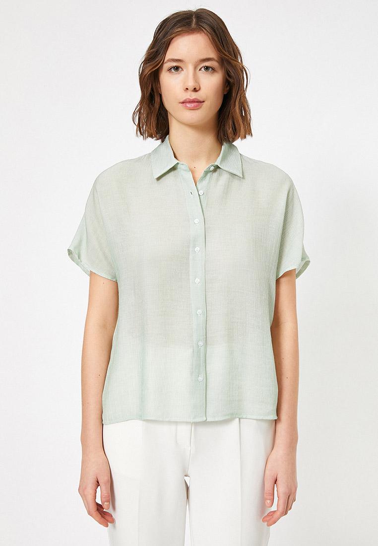 Рубашка с коротким рукавом Koton 0YAK62165CW