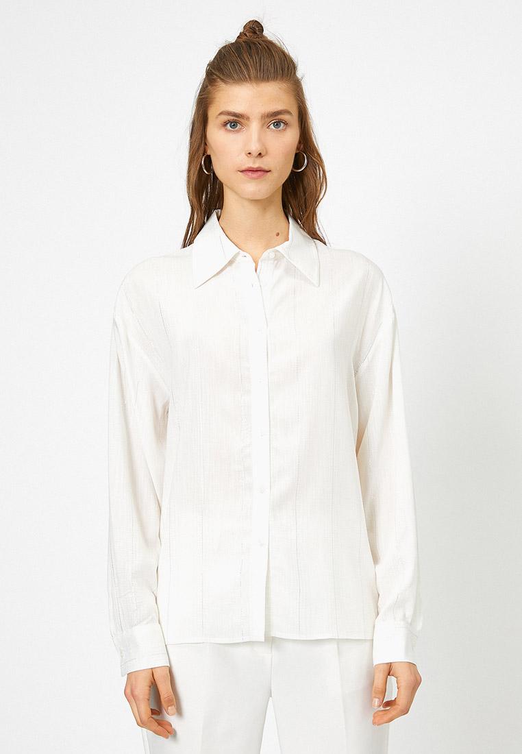 Женские рубашки с длинным рукавом Koton 0YAK68184CW