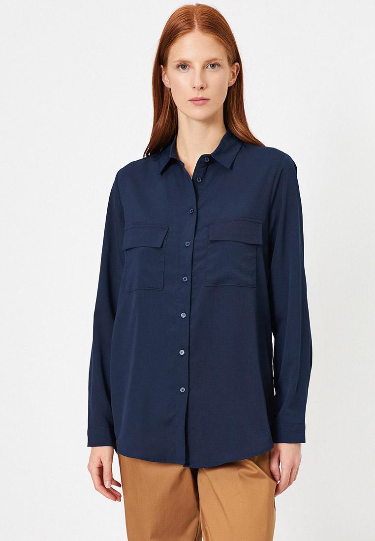 Женские рубашки с длинным рукавом Koton 0YAK68383PW