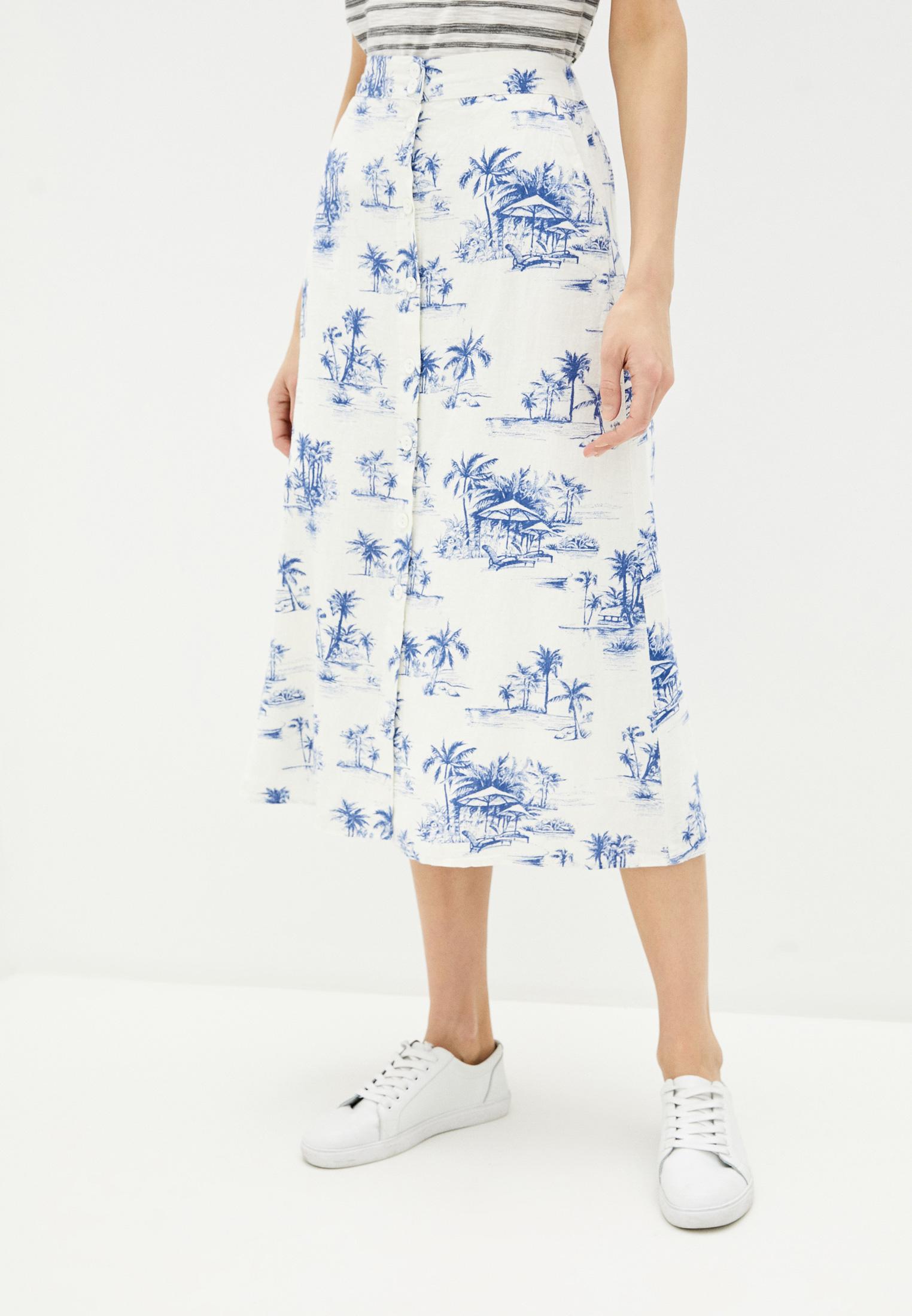 Широкая юбка Koton 0YAK72034UW