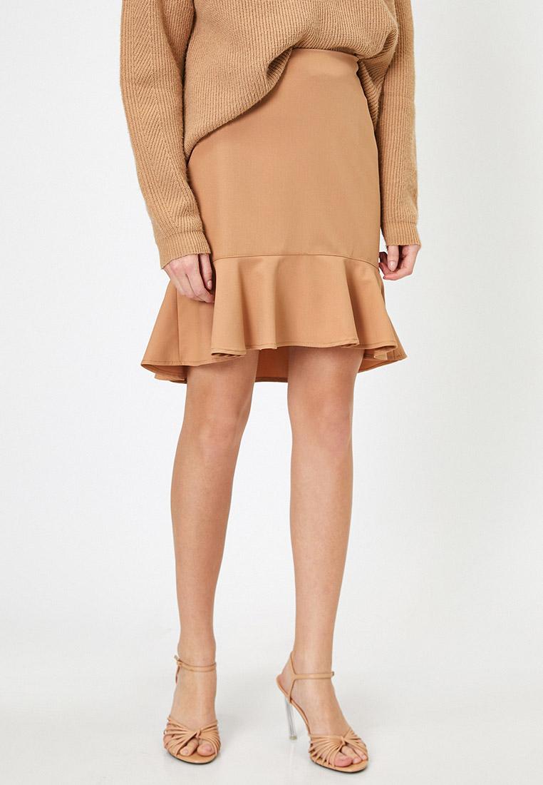 Широкая юбка Koton 0YAK73689EW