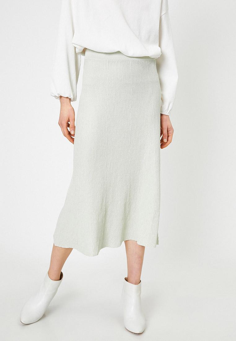Широкая юбка Koton 0YAK93257OT