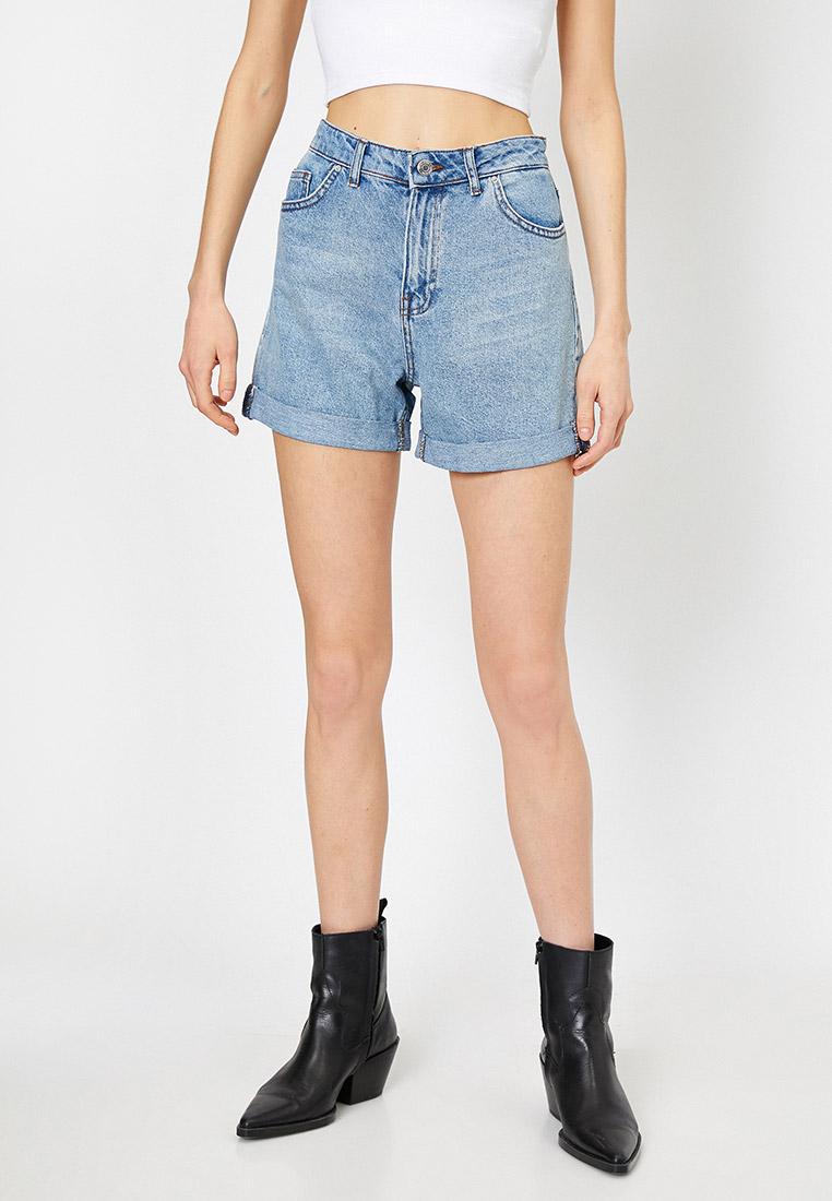 Женские джинсовые шорты Koton 0YAK03040OD