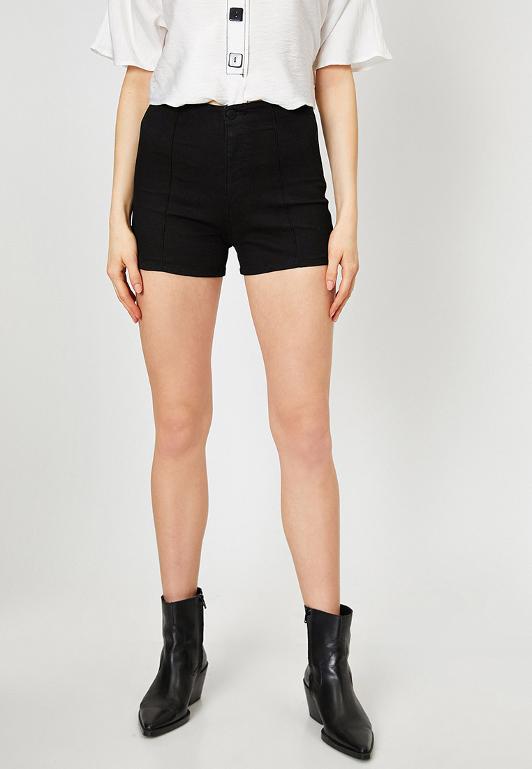 Женские джинсовые шорты Koton 0YAK47197MD
