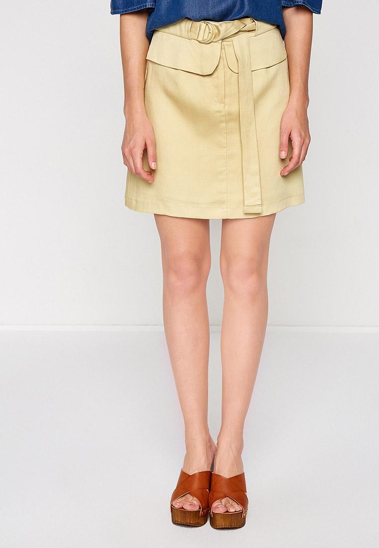 Широкая юбка Koton 7YAK73054EW