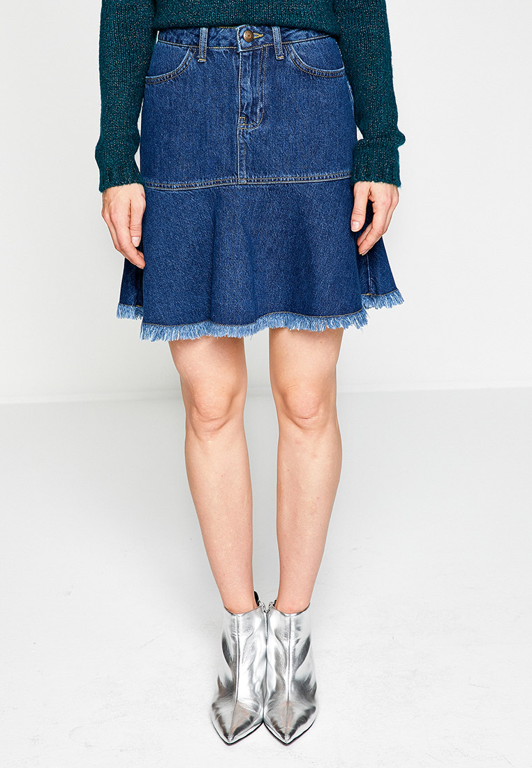 Джинсовая юбка Koton 8KAK77134MD