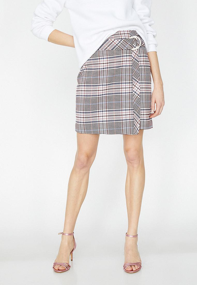 Прямая юбка Koton 9YAK72061UW
