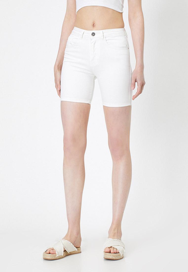 Женские джинсовые шорты Koton 0YAK47399MD