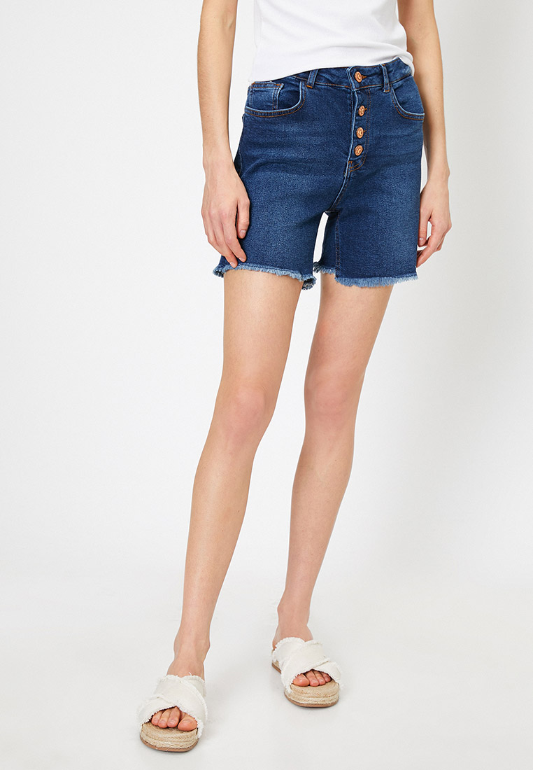 Женские джинсовые шорты Koton 0YAK47621MD