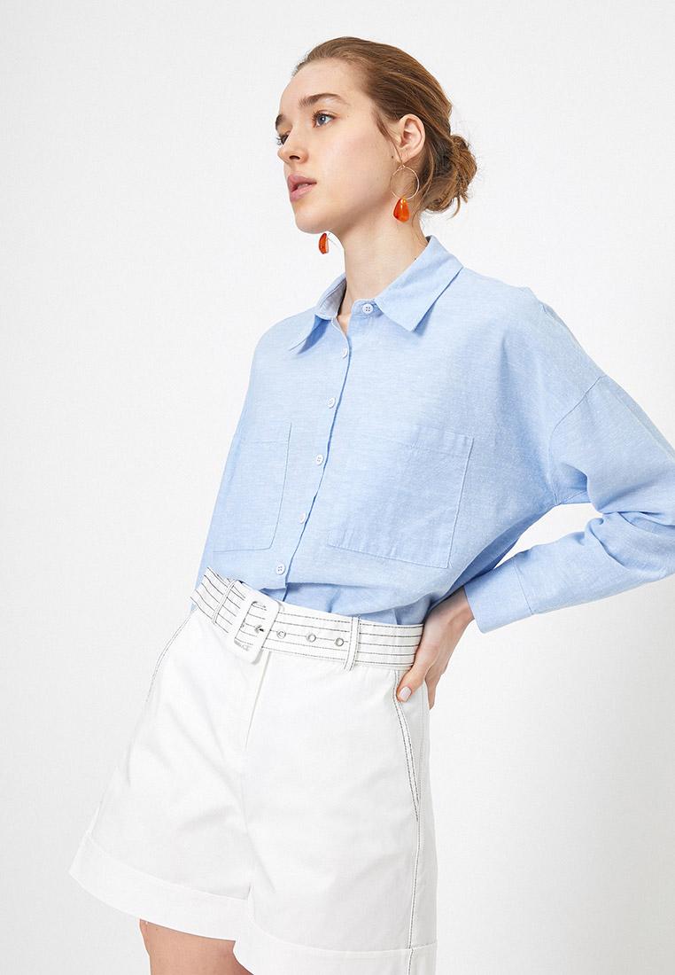Женские рубашки с длинным рукавом Koton 0YAK68152PW