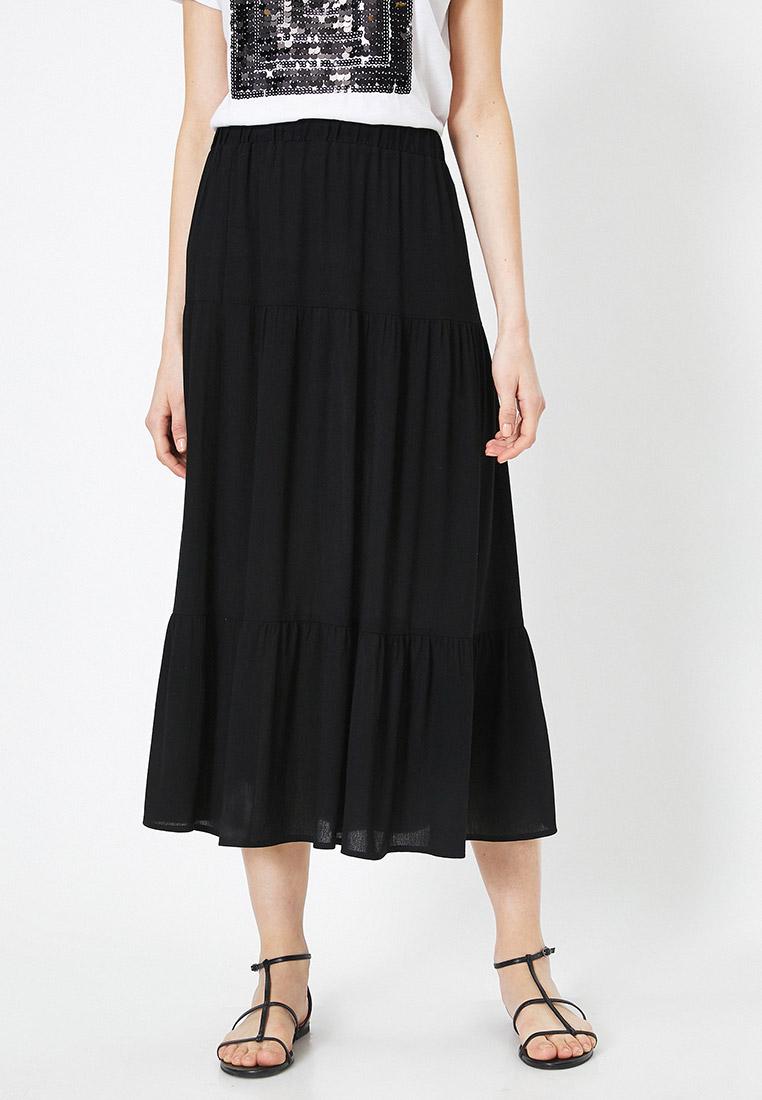 Широкая юбка Koton 0YAK72665UW