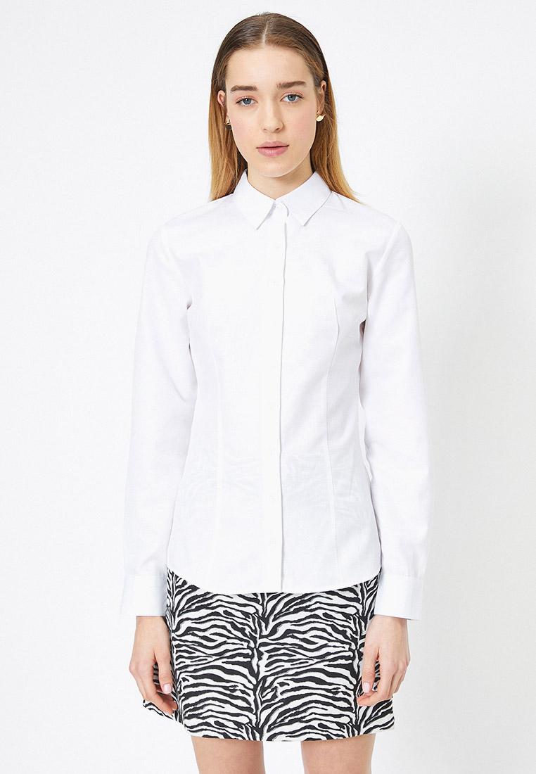 Женские рубашки с длинным рукавом Koton 1KAK62881YW