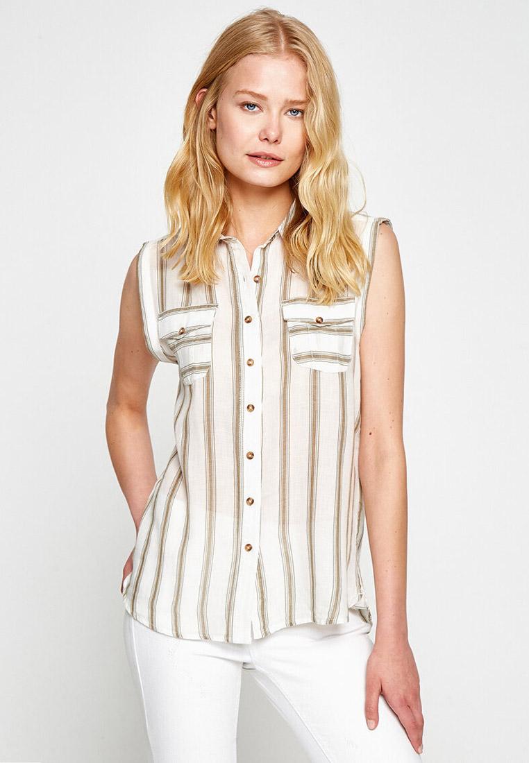 Рубашка с коротким рукавом Koton 7YAK63574OW