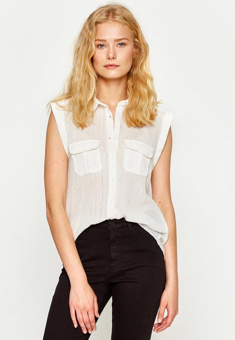 Рубашка с коротким рукавом Koton 7YAK63614OW