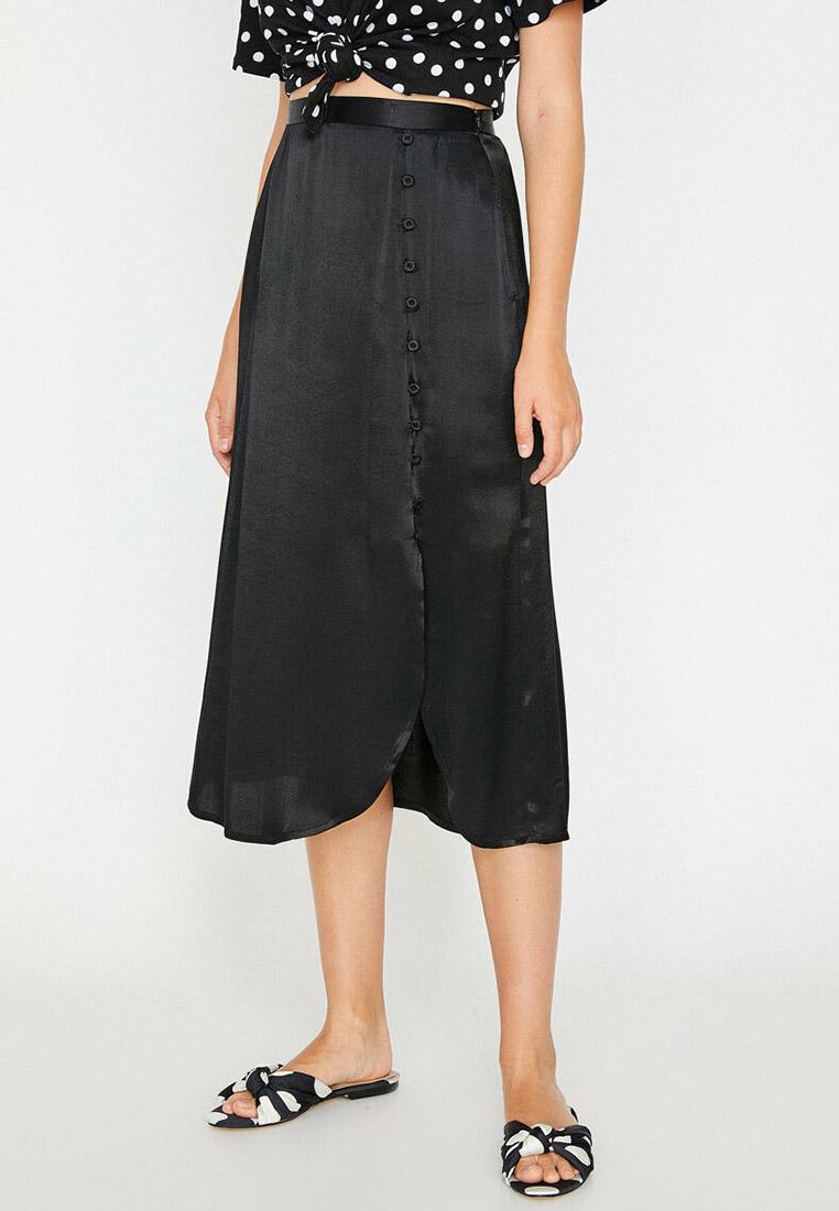 Широкая юбка Koton 8YAK72839OW