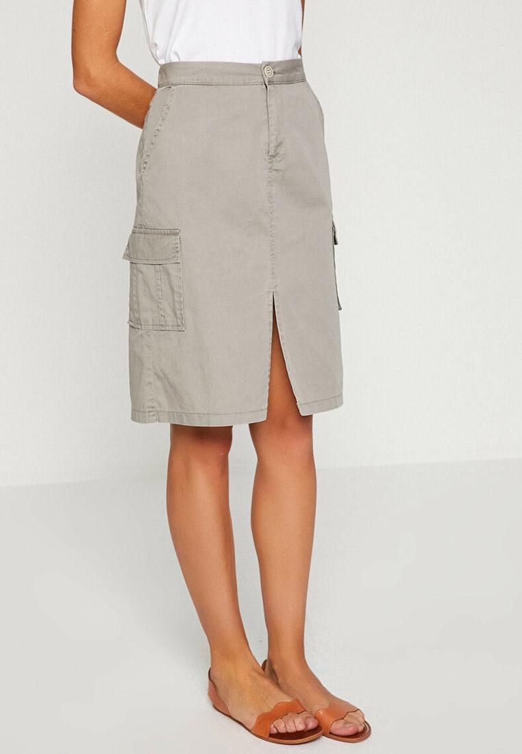 Прямая юбка Koton 8YAK73703MW