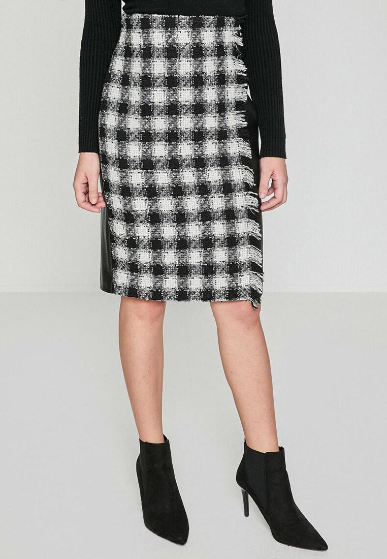 Прямая юбка Koton 8YAK76549IW