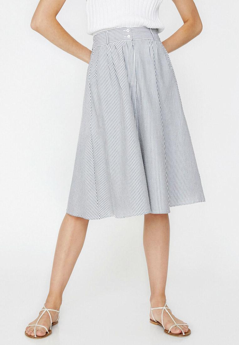 Широкая юбка Koton 8YAL71371JW