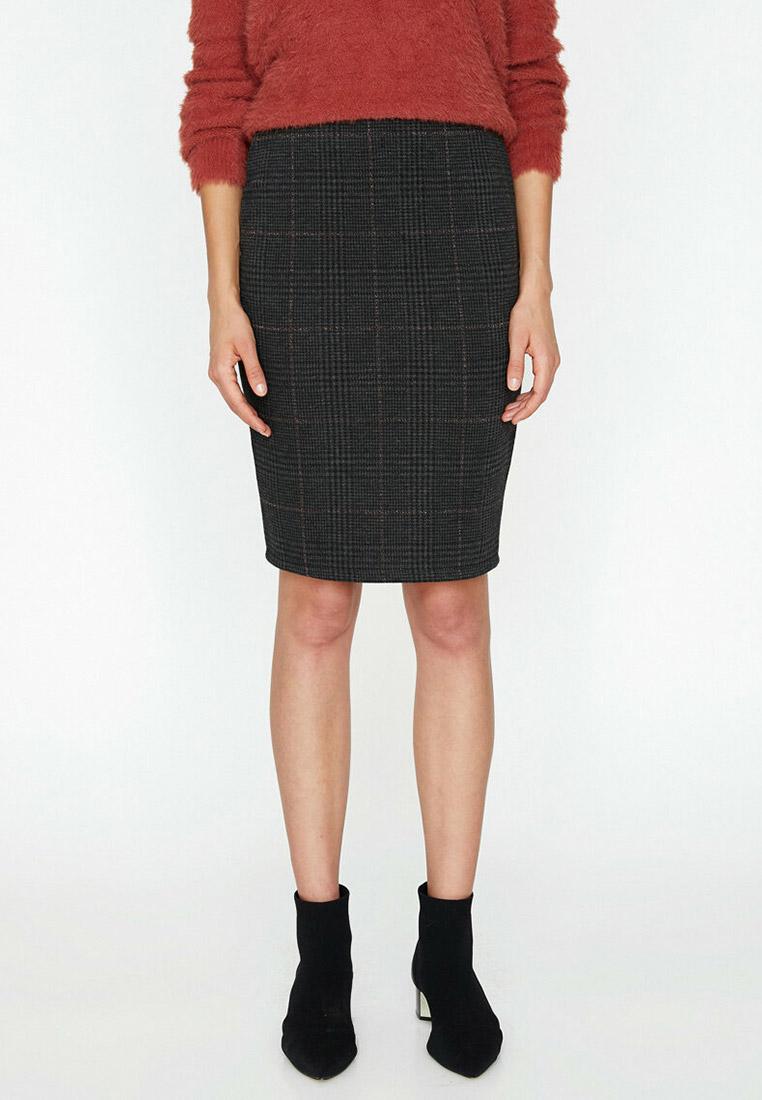 Прямая юбка Koton 9KAK73572GK