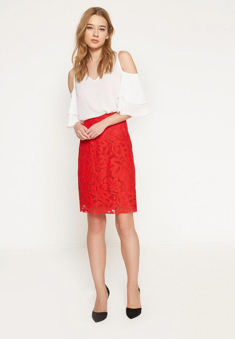 Прямая юбка Koton 7YAK78258PK: изображение 3