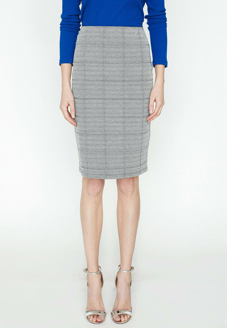 Прямая юбка Koton 9KAK76754IK