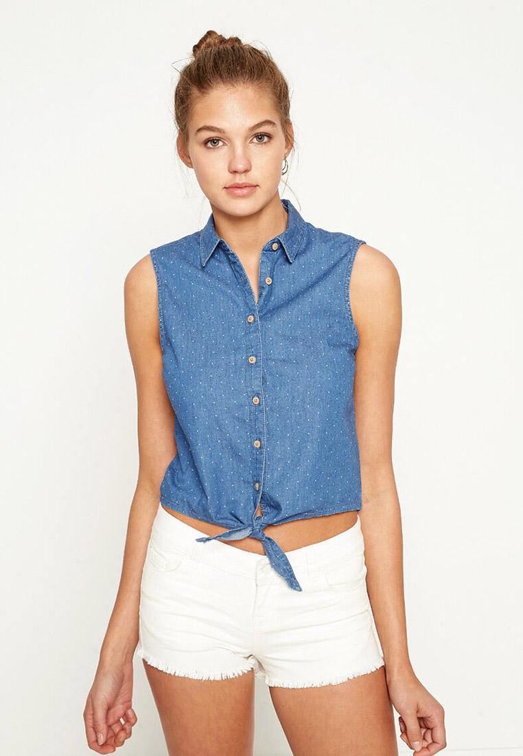 Женские джинсовые рубашки Koton 7YAL61704JD