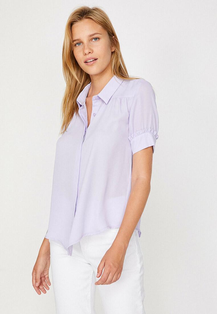 Рубашка с коротким рукавом Koton 8YAF60634GW