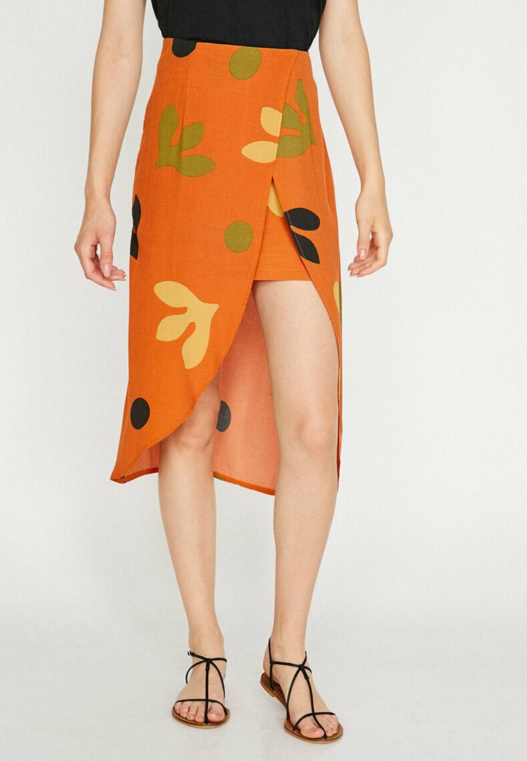 Прямая юбка Koton 8YAF70165FW