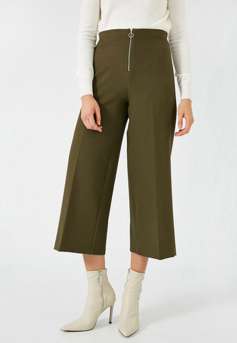 Женские широкие и расклешенные брюки Koton 1KAK42098UW