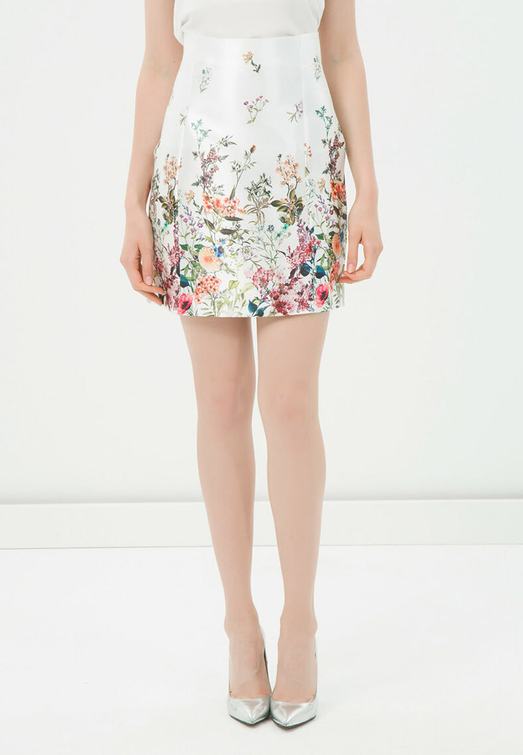 Широкая юбка Koton 6YAK76201IW