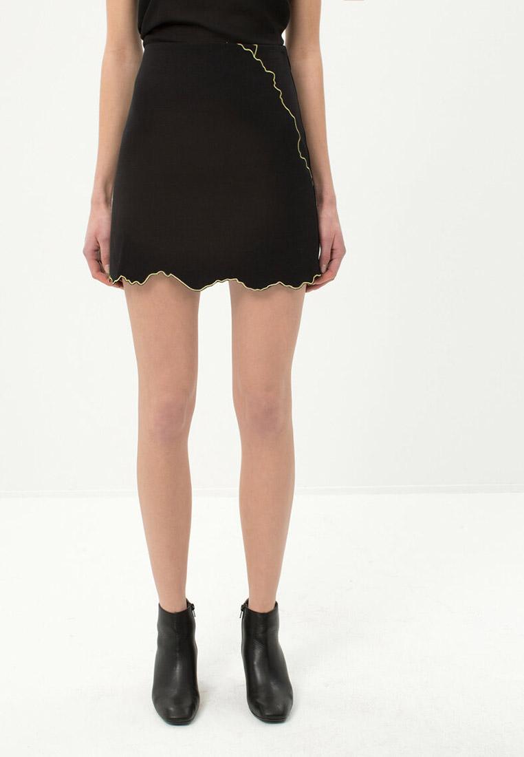 Широкая юбка Koton 7YAK73882EW