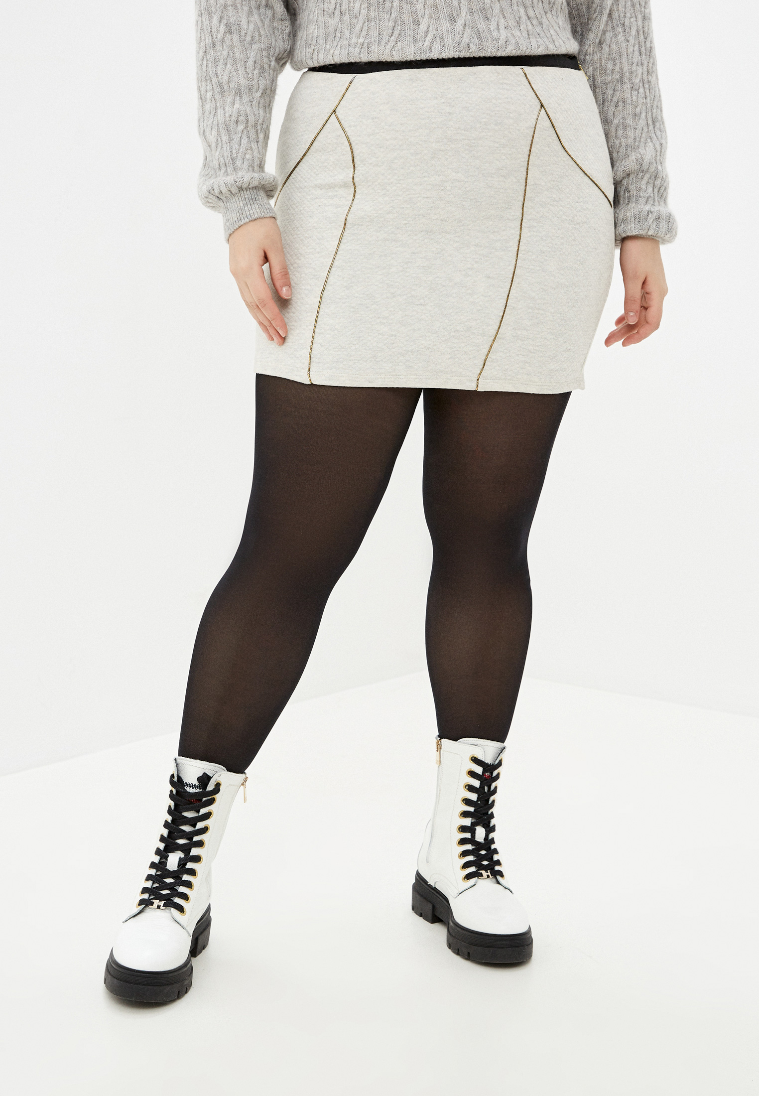 Узкая юбка Koton 5KAK78963GK