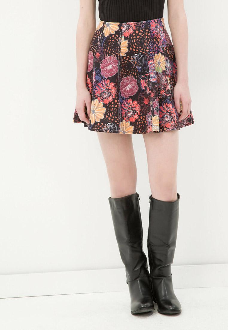 Широкая юбка Koton 6YAL76863IK