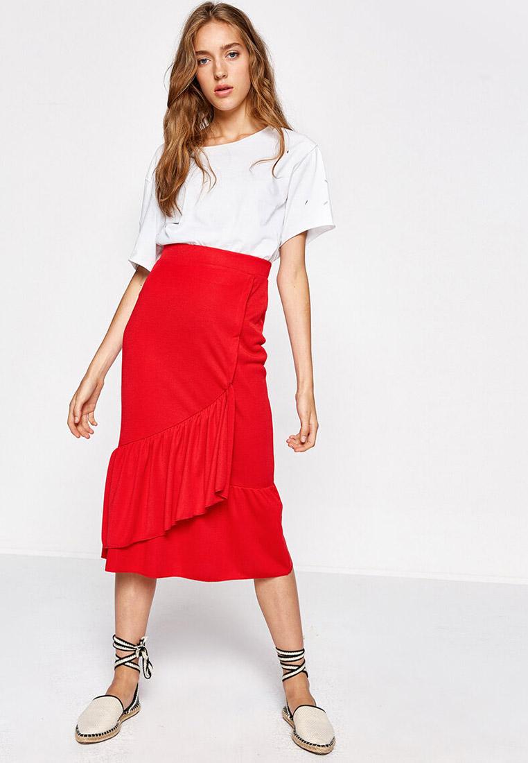 Прямая юбка Koton 8KAK73674QK: изображение 3