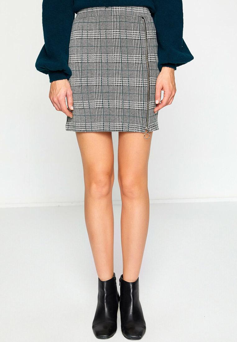 Прямая юбка Koton 8KAK73695QK