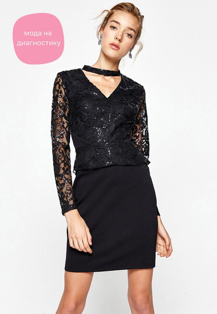 Платье Koton 8KAK84639FK
